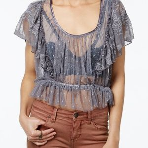 COPY - Free People Sweet Surprise Lace Blouse